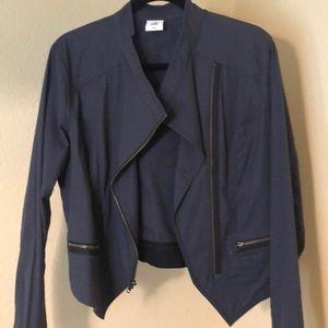 Cabi tuxedo jacket. Size Medium, slate grey